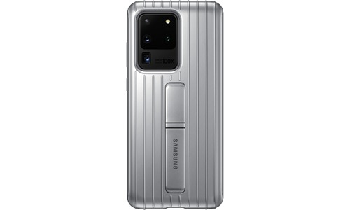 Samsung Protective Standing Cover Galaxy S20 Ultra Silver
