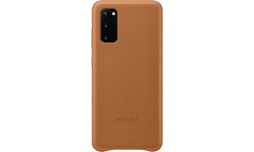 Samsung Leather Cover Galaxy S20 Brown