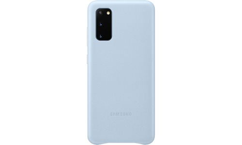 Samsung Leather Cover Galaxy S20 Blue