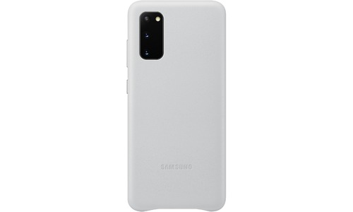 Samsung Leather Cover Galaxy S20 Light Grey