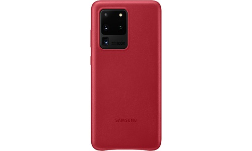 Samsung Leather Cover Galaxy S20 Ultra Red