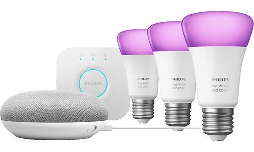 Google Nest Mini & Philips Hue Starter Kit