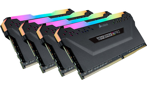 Corsair Vengeance RGB Pro Black 32GB DDR4-3200 CL16 ECC quad kit