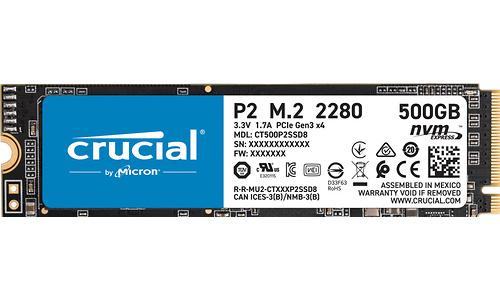Crucial P2 500GB (M.2 2280)