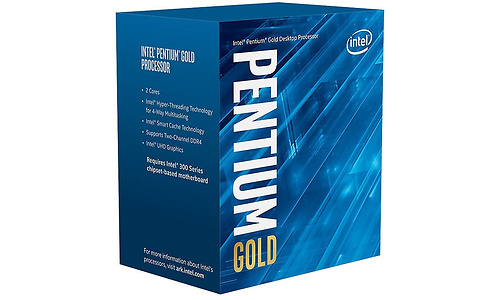 Intel Pentium Gold G6600