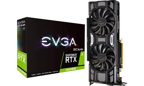 EVGA GeForce RTX 2060 Super SC Black Gaming 8GB