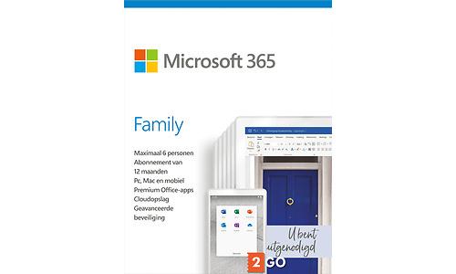 Microsoft Office 365 Family 6-user 1-year (NL)