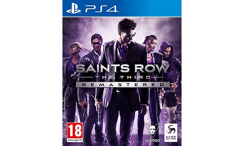 Saints Row: The Third Remastered (PlayStation 4)