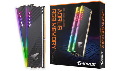 Gigabyte Aorus RGB 16GB DDR4-3200 CL16 kit (GP-ARS16G32)