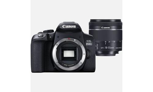 Canon Eos 850D 18-55 kit Black