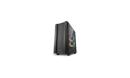 Sharkoon REV220 RGB Window Black