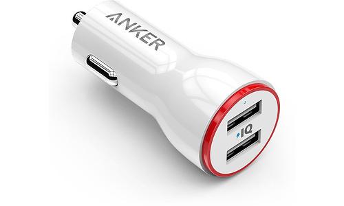 Anker PowerDrive 2 Ports 24W White
