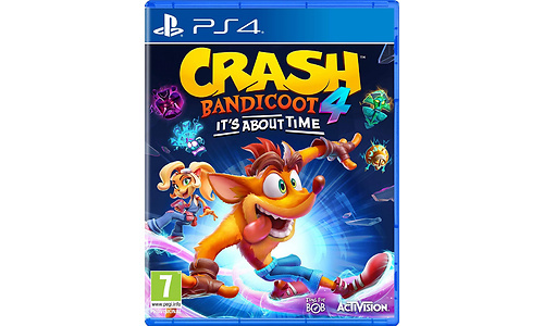 Crash Bandicoot 4 It's About Time (PlayStation 4)