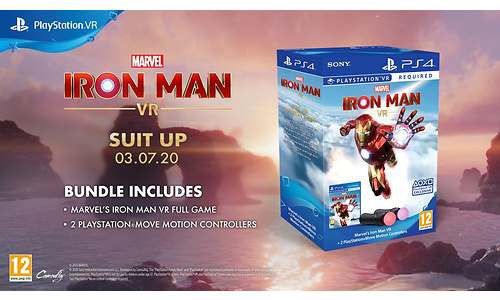 Marvel's Iron Man VR + PS Move (PlayStation 4)