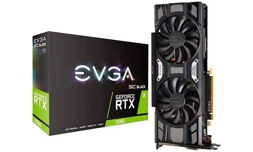 EVGA GeForce RTX 2060 SC Gaming Black 6GB