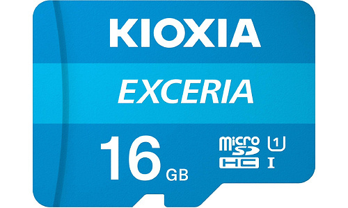 Kioxia Exceria MicroSDHC UHS-I 16GB