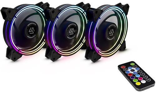 Inter-Tech Alseye Halo RGB 3.0 3-pack