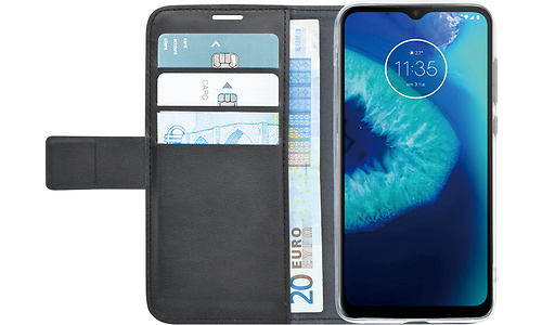 Azuri Wallet Motorola Moto G8 Power Lite Book Case Black