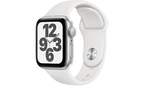 Apple Watch SE 40mm Silver Sport Band White