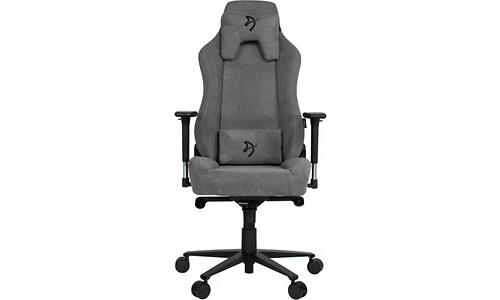 Arozzi Vernazza Soft Fabric Gaming Chair Ash