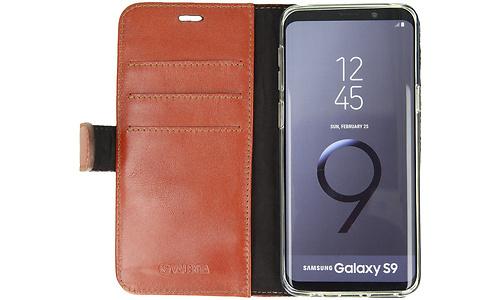 Valenta Valenta Booklet Classic Luxe Galaxy S9 Book Case Brown