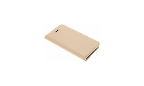 Selencia Dux Ducis Slim Softcase Booktype iPhone 8 / 7 Gold / Gold
