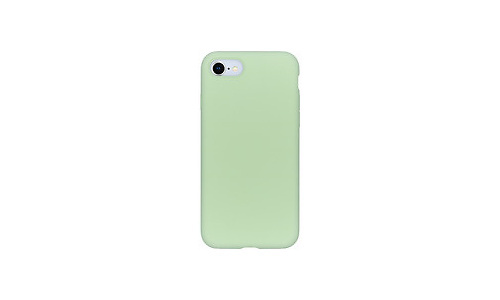 Selencia Accezz Liquid Silicone Backcover iPhone SE (2020) / 8 / 7 Cover Green