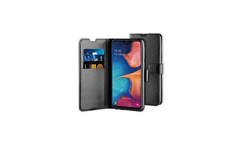 BeHello Samsung Galaxy A20E Gel Wallet Case Black