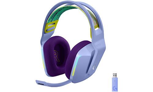Logitech G G733 Lightspeed Wireless Gaming Headset Lilac