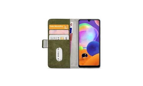 Mobilize Elite Gelly Wallet Book Case Samsung Galaxy A31 Green
