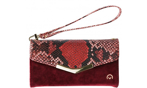 Mobilize Velvet Clutch Samsung Galaxy A31 Cover Red Snake