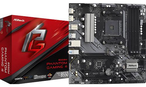 ASRock B550M Phantom Gaming 4