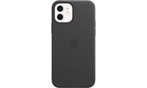 Apple iPhone 12/12 Pro Leather Case MagSafe Black