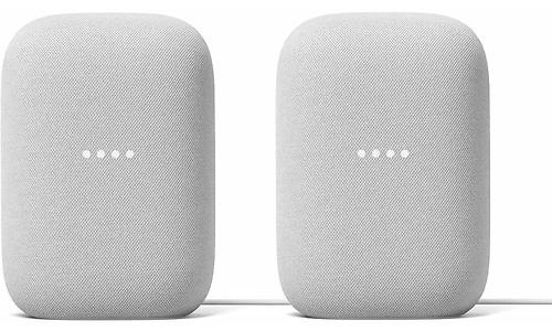 Google Nest Audio Chalk 2-pack