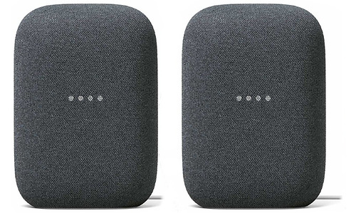 Google Nest Audio Charcoal 2-pack