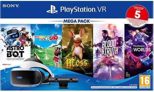 Sony PlayStation VR Megapack 3
