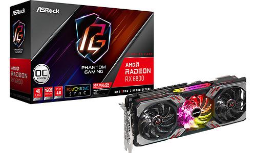 ASRock Radeon RX 6800 Phantom Gaming D 16G OC 16GB