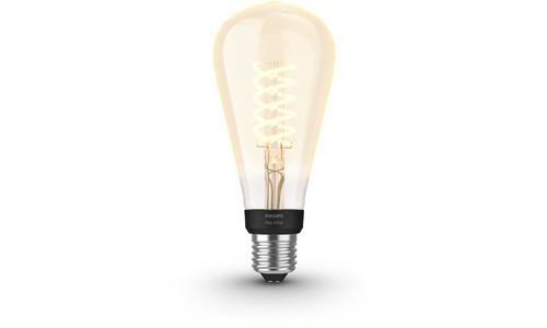 Philips Hue Filamentlamp White Edison ST72/E27 Bluetooth