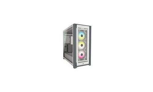 Corsair iCUE 5000X RGB Window Black/White