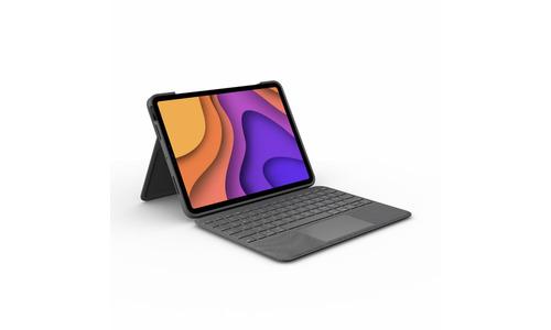 Logitech Folio Touch iPad Air G4 2020 Keyboard Cover Grey