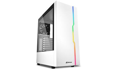 Sharkoon Slider RGB Window White