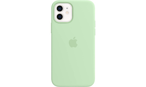 Apple iPhone 12 / 12 Pro Silicone Back Cover MagSafe Pistachio Green