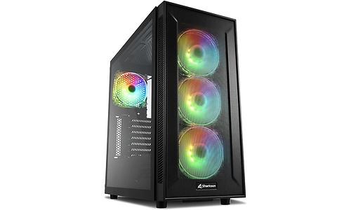 Sharkoon TG6M RGB Window Black