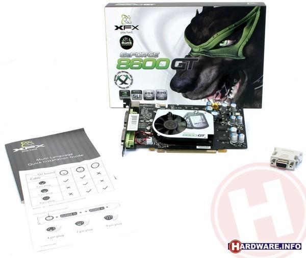 XFX GeForce 8600 GT XXX Edition