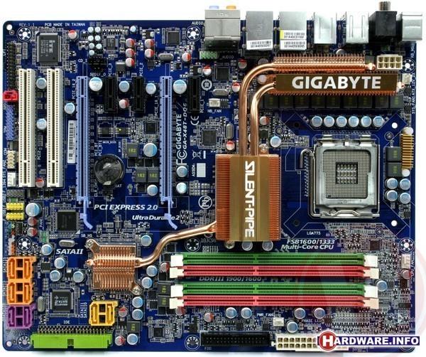 Gigabyte X48T-DQ6