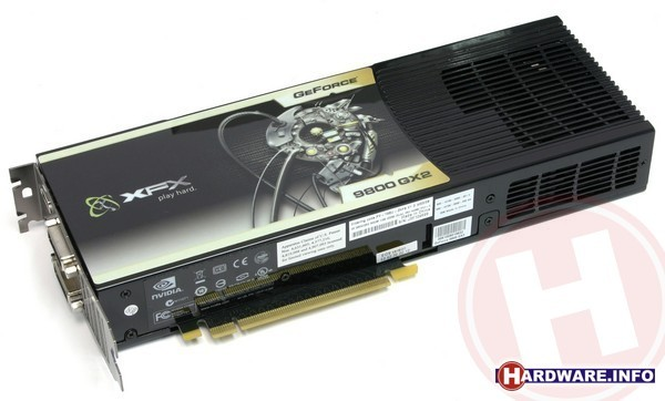 XFX GeForce 9800 GX2 1GB