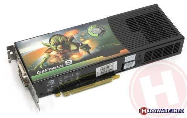 Point of View GeForce 9800 GX2 1GB