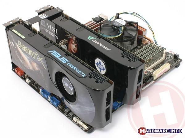 Nvidia GeForce 9800 GTX SLI