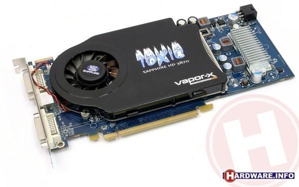 Sapphire Radeon HD 3870 Toxic 512MB