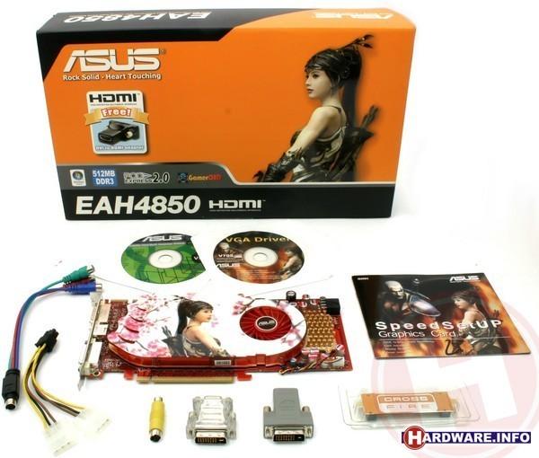 Asus EAH4850/HTDI/512M